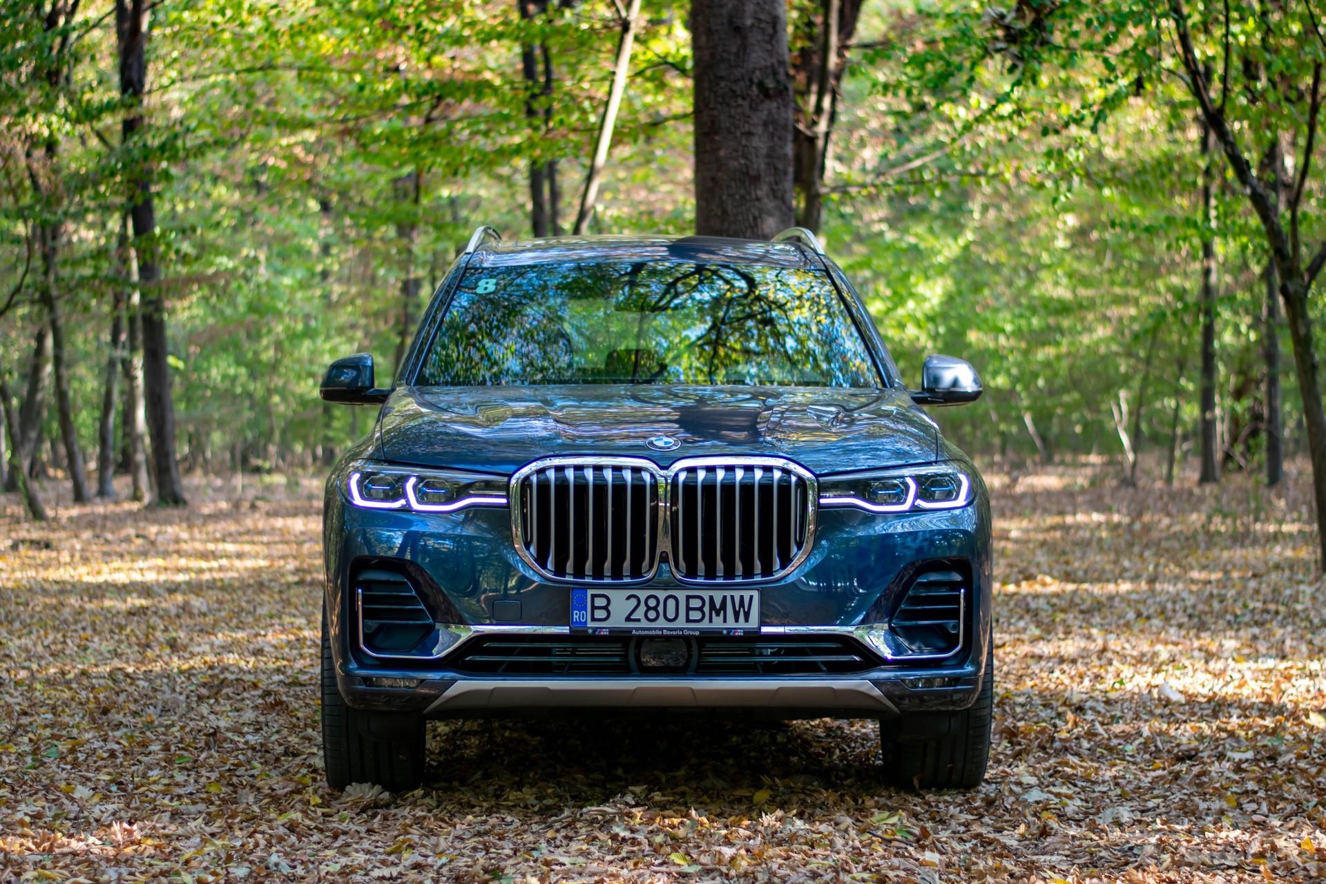 2020 BMW X7 xDrive40i test drive 0060