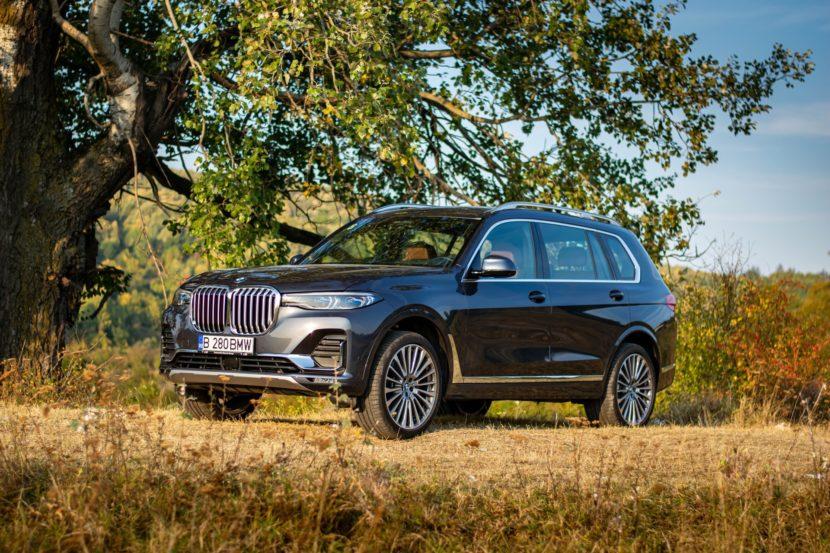 2020 BMW X7 xDrive40i test drive 0070 830x553