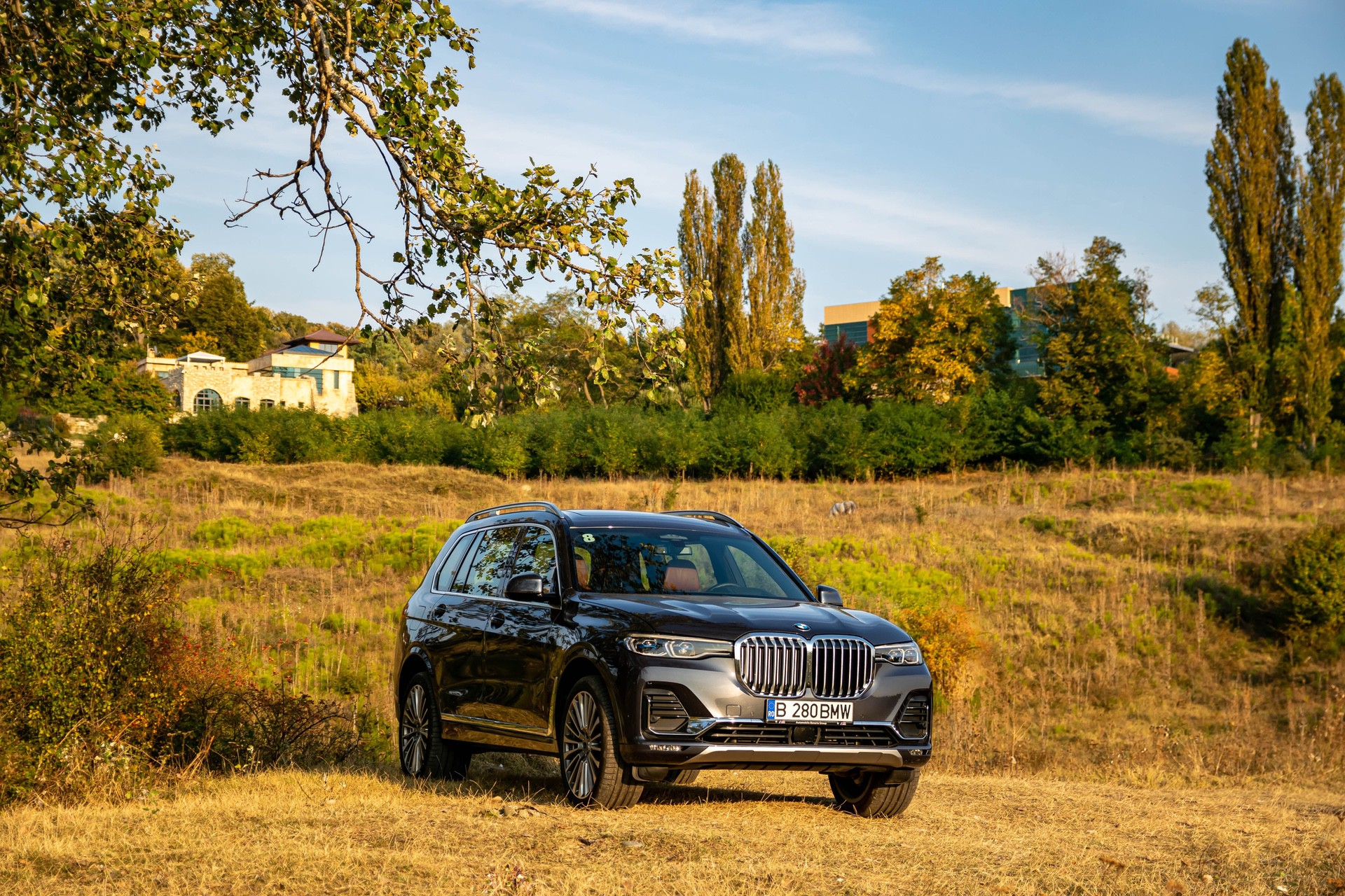 2020 BMW X7 xDrive40i test drive 0075