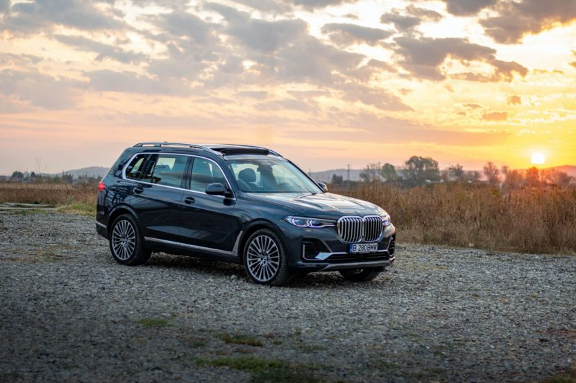2020 BMW X7 xDrive40i test drive 0078 830x553