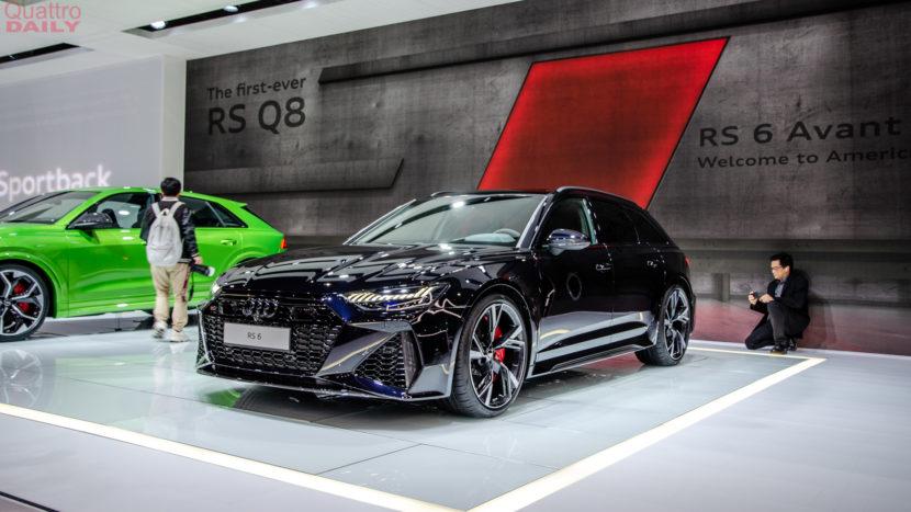 Audi RS6 Avant LA Auto Show 1 of 7 830x467