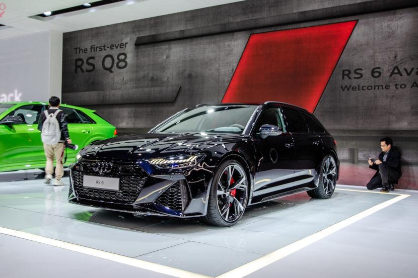 Audi RS6 Avant LA Auto Show 1 of 7 830x553