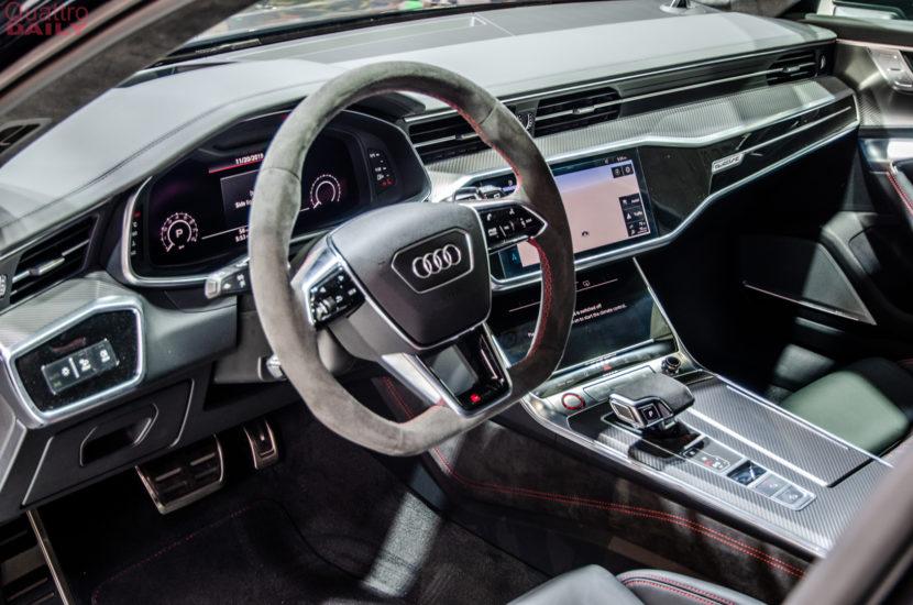 Audi RS6 Avant LA Auto Show 4 of 7 830x550