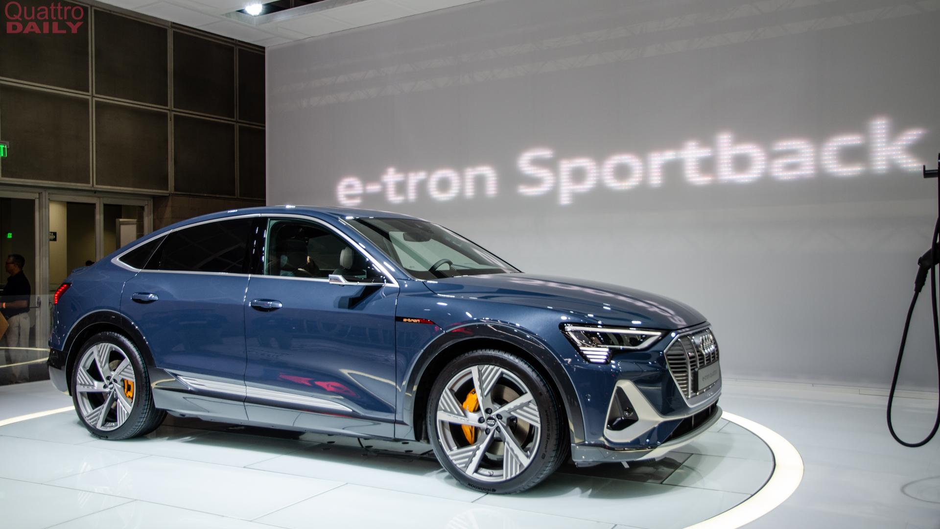 Audi e tron Sportback LA Auto Show 10 of 12
