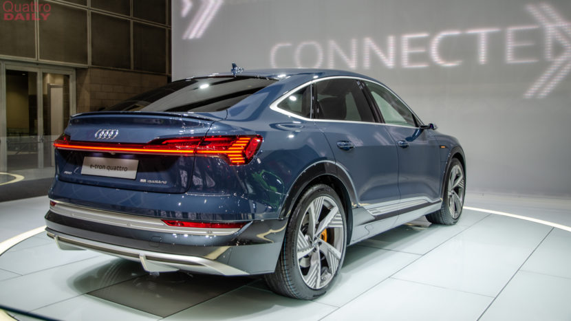 Audi e tron Sportback LA Auto Show 7 of 12 830x467