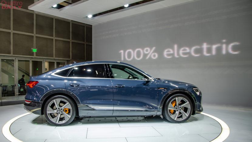 Audi e tron Sportback LA Auto Show 9 of 12 830x467