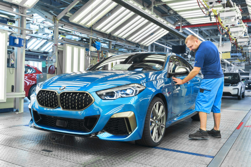 BMW 2 Series Gran Coupe Production Start at Leipzig 10 830x553