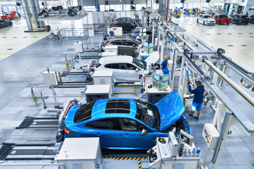 BMW 2 Series Gran Coupe Production Start at Leipzig 14 830x553