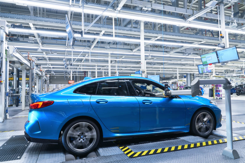 BMW 2 Series Gran Coupe Production Start at Leipzig 16 830x553