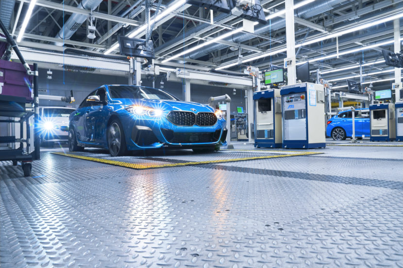 BMW 2 Series Gran Coupe Production Start at Leipzig 17 830x553