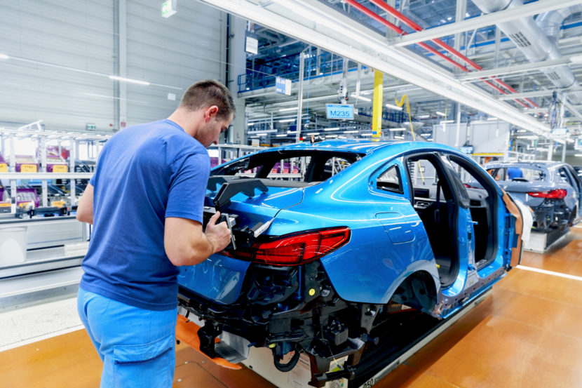 BMW 2 Series Gran Coupe Production Start at Leipzig 2 830x553