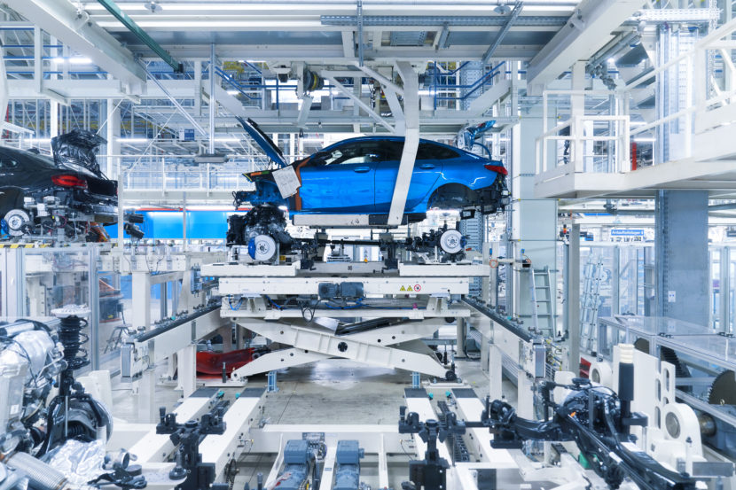 BMW 2 Series Gran Coupe Production Start at Leipzig 24 830x553