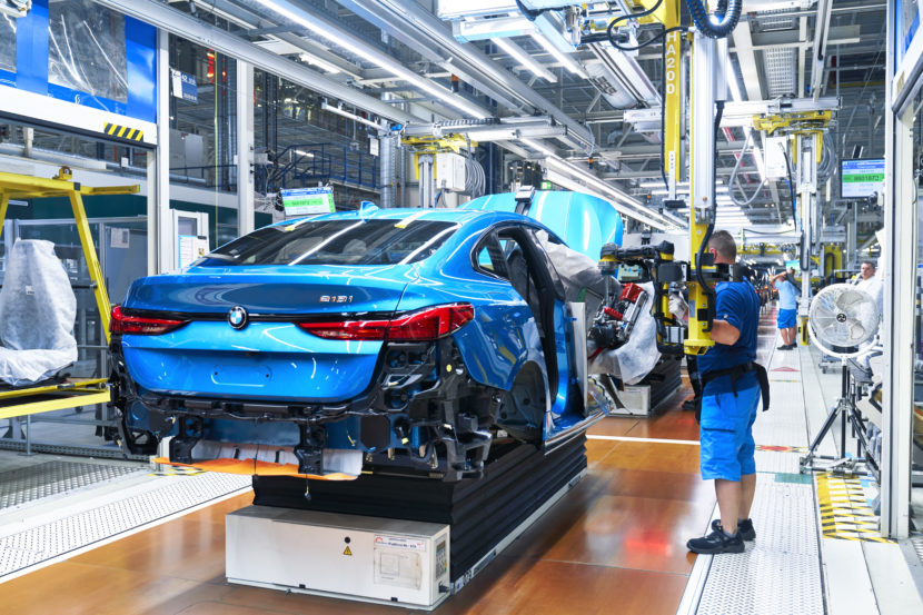 BMW 2 Series Gran Coupe Production Start at Leipzig 27 830x553