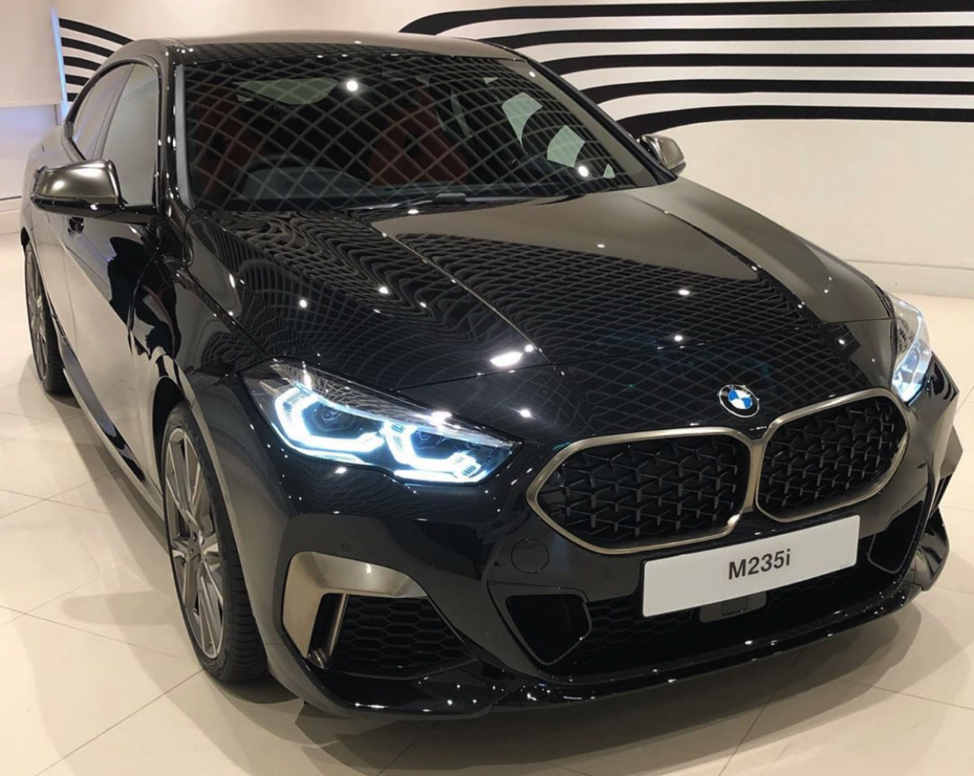 BMW 2 Series Gran Coupe Sapphire Black 1