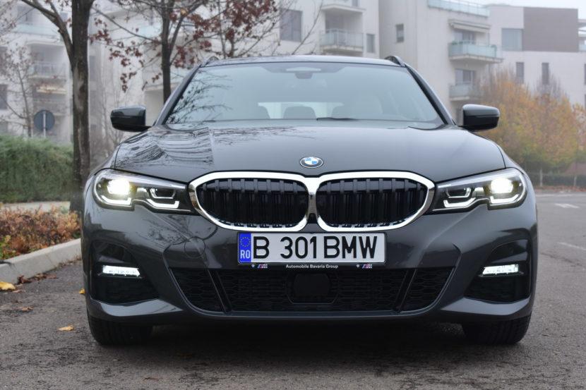 BMW 320d xDrive M Sport Touring TESTDRIVE RO 14 830x553