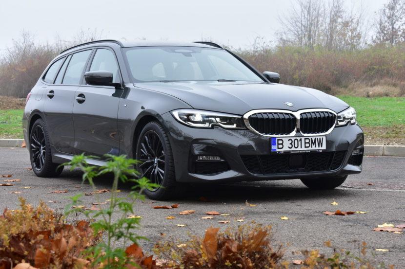 BMW 320d xDrive M Sport Touring TESTDRIVE RO 29 830x553