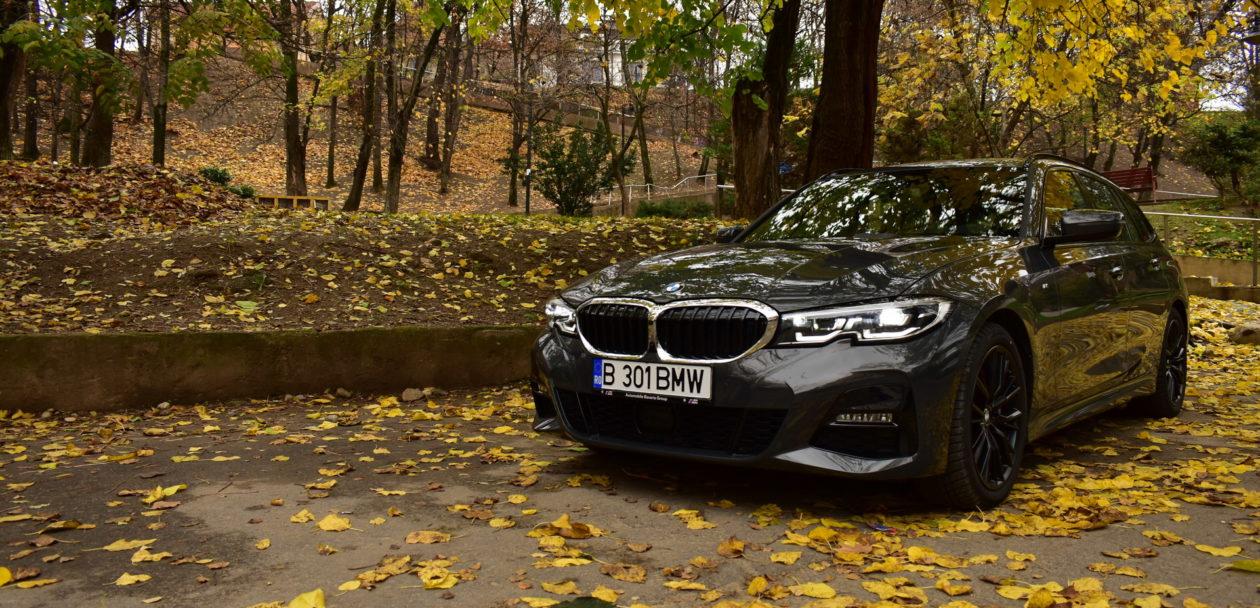 BMW 320d xDrive M Sport Touring TESTDRIVE RO 48 1260x608