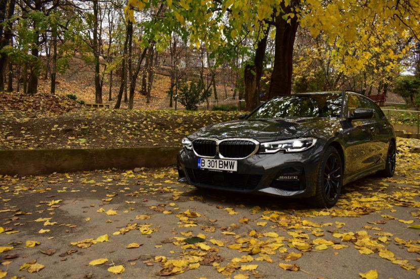 BMW 320d xDrive M Sport Touring TESTDRIVE RO 48 830x553