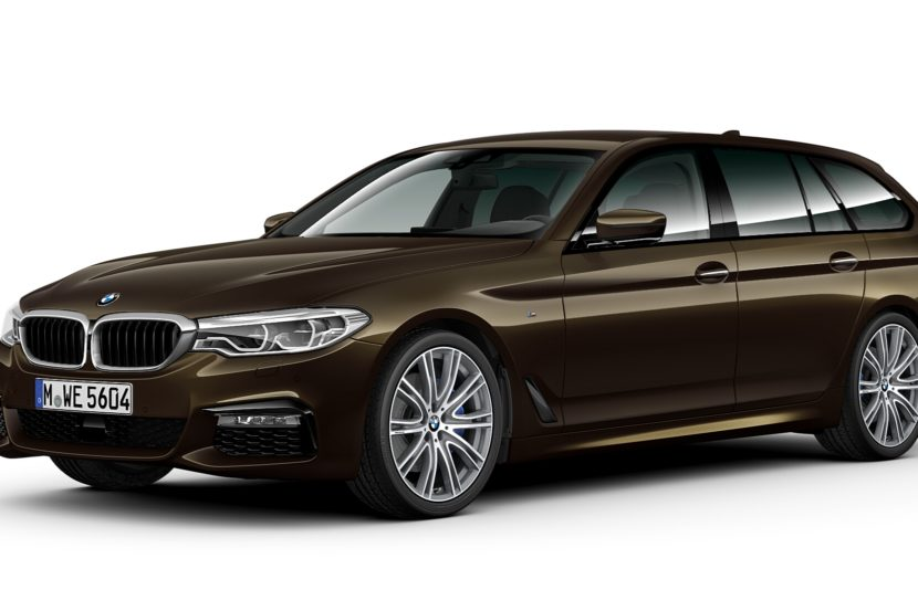 BMW 5 Series Touring BMW Individual Brass metallic 1 830x553