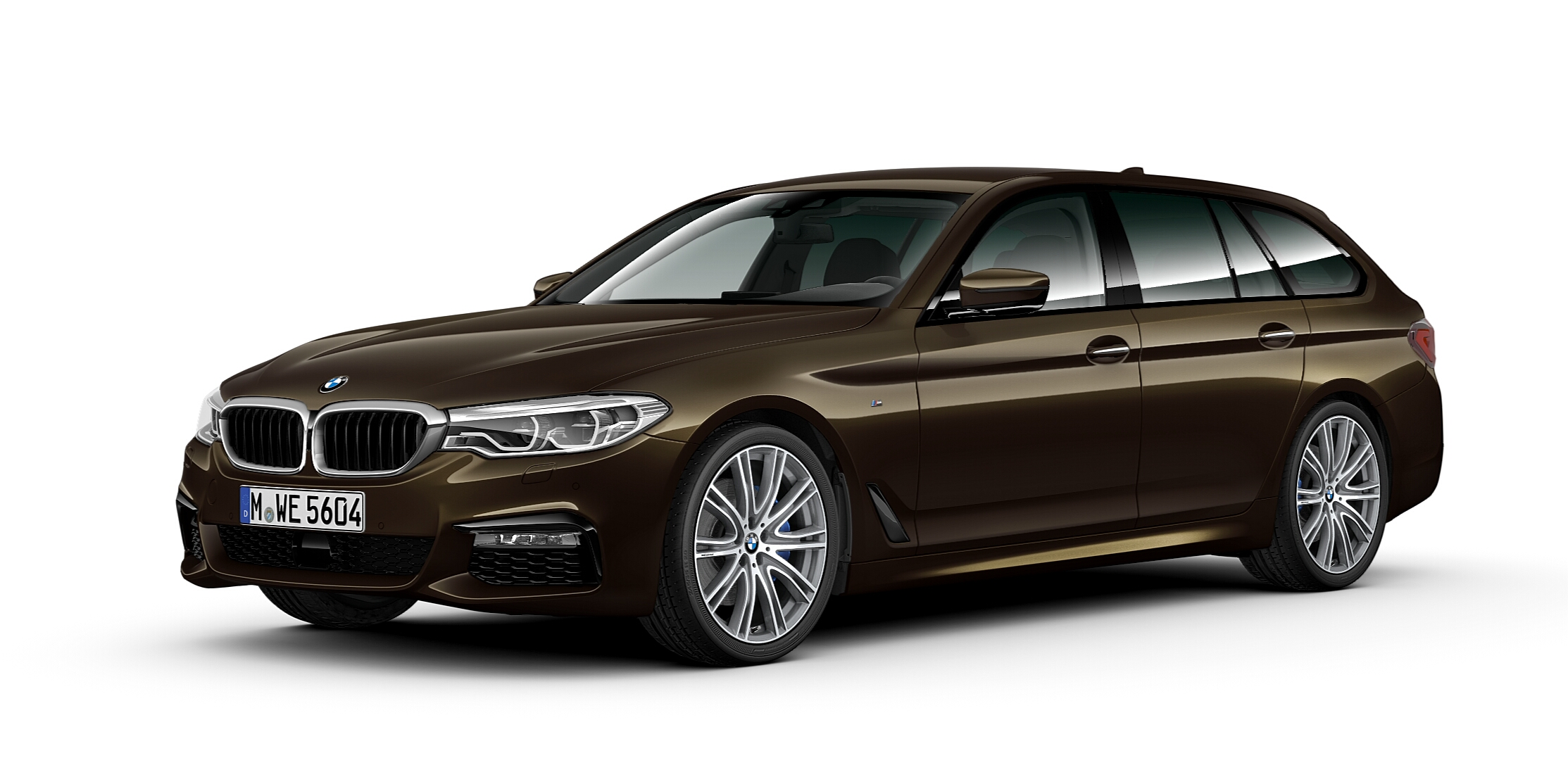 BMW 5 Series Touring BMW Individual Brass metallic 1