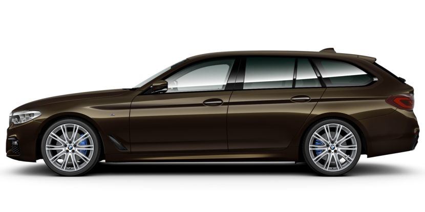 BMW 5 Series Touring BMW Individual Brass metallic 3 830x415