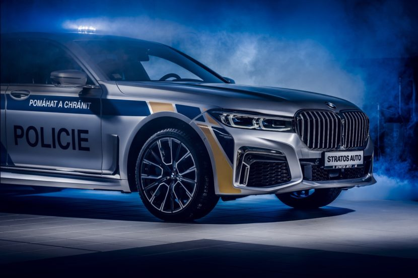 BMW 7 Series plug in hybrids for police cars 7 830x553