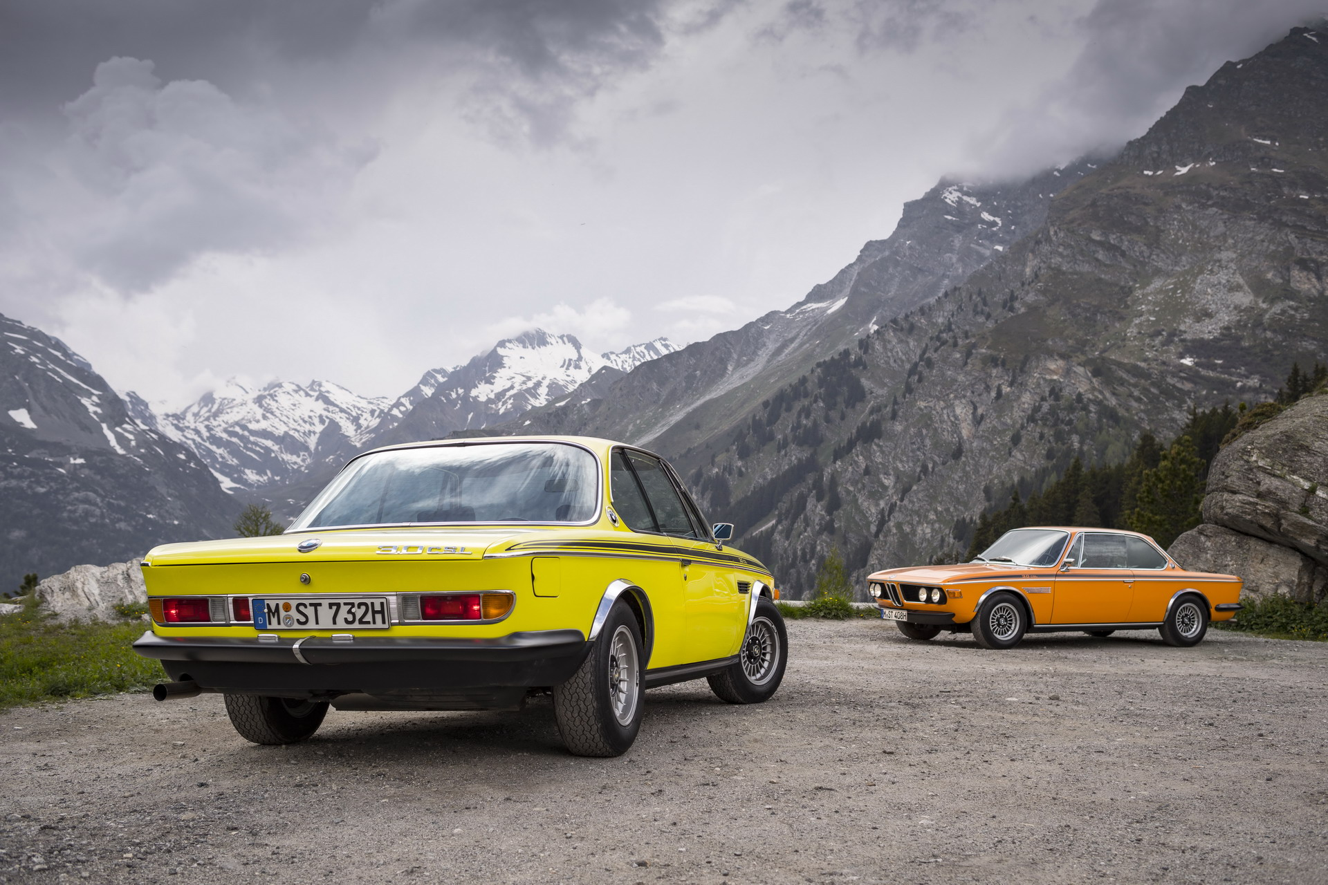 BMW E9 CS and CSL 2