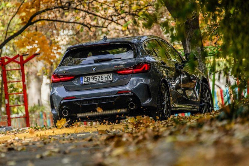 BMW M135i Storm Bay Blue 13 830x553