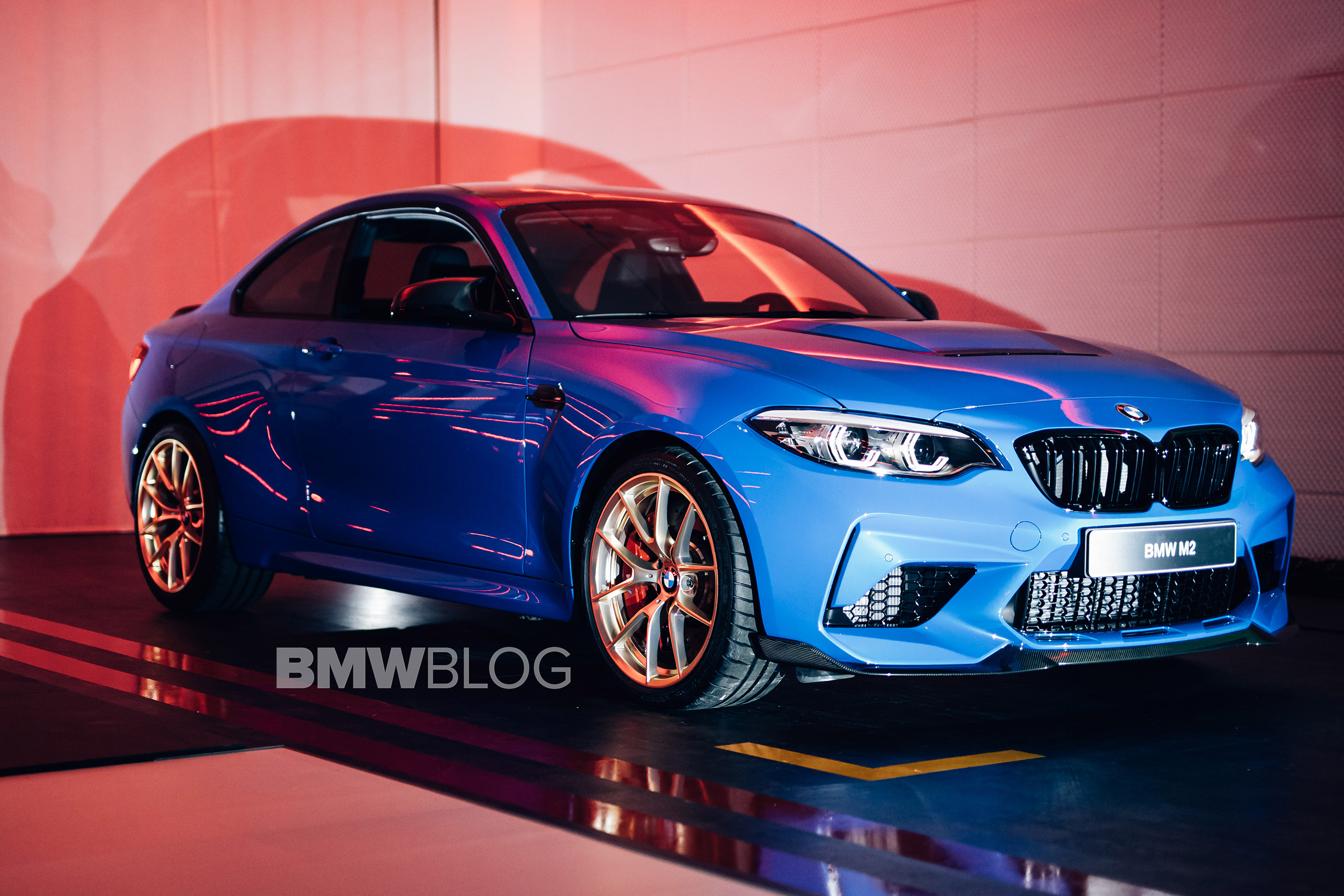 EXCLUSIVE: BMW M2 CS – First real life photos