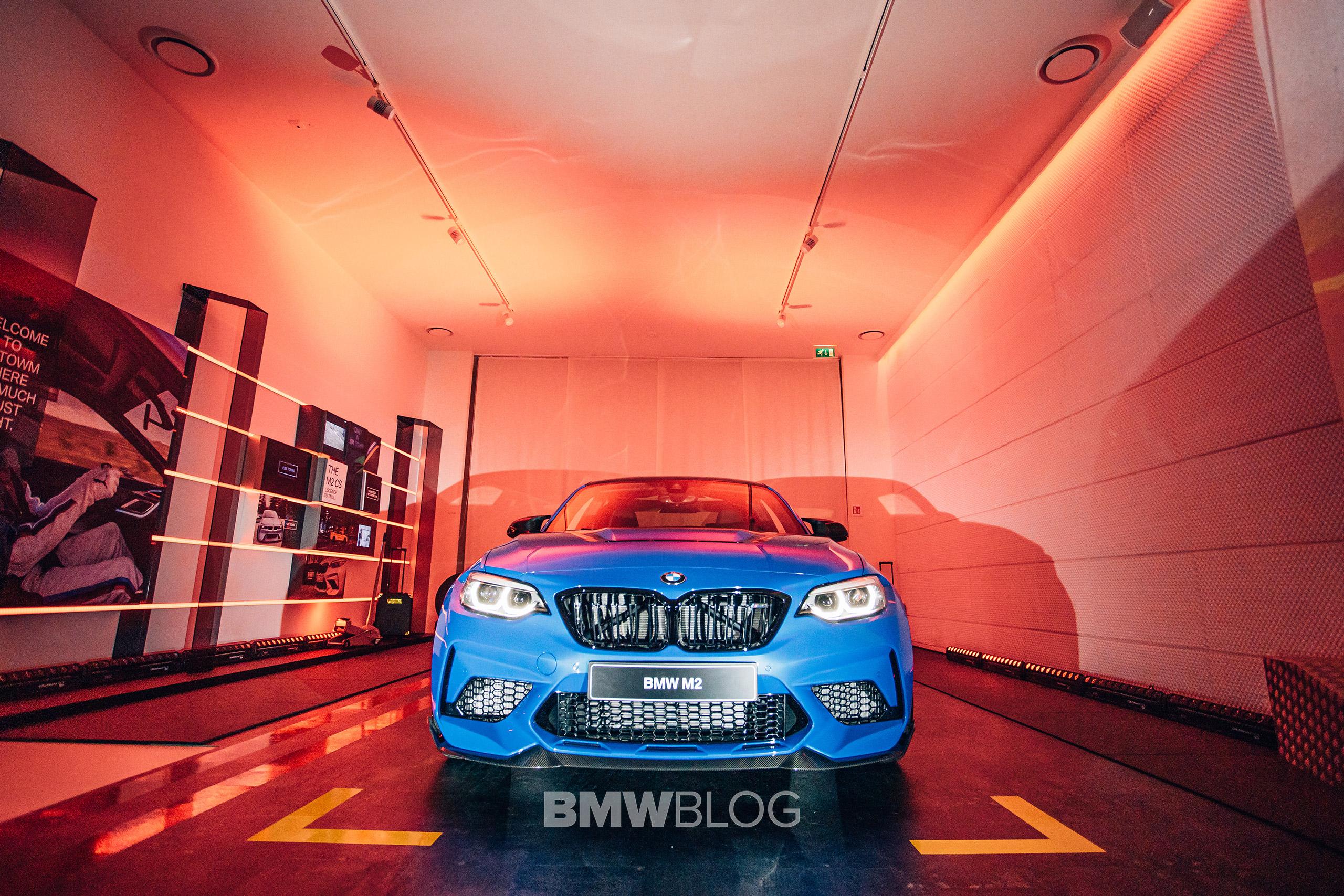 BMW M2 CS Brand Store Brussels 5