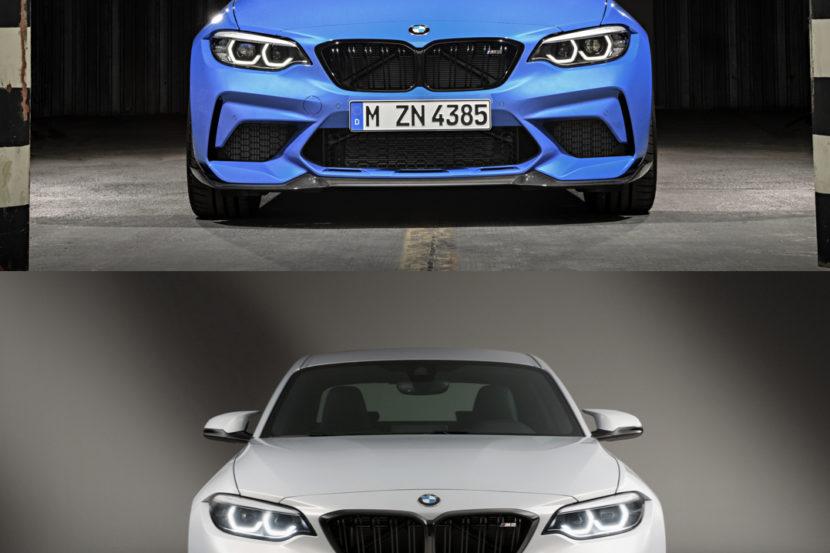 BMW M2 CS M2 Comp Comparison 830x553