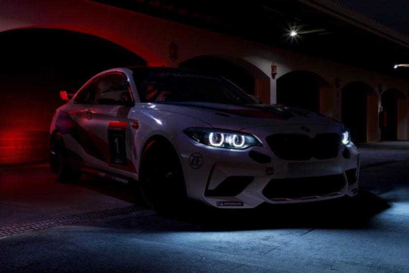 BMW M2 CS Racing 2020 Motorsport Teaser 830x554