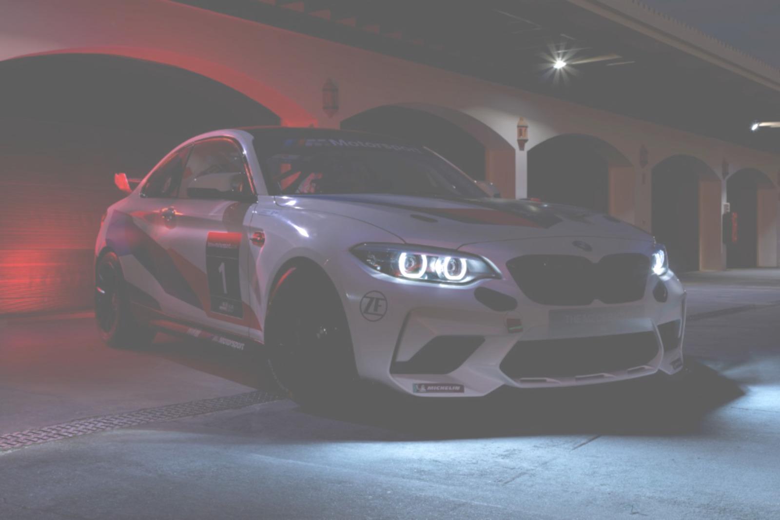 BMW M2 CS Racing 2020 Motorsport Teaser hell