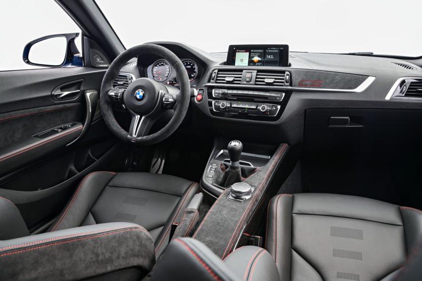 BMW M2 CS interior photos images 2 830x553