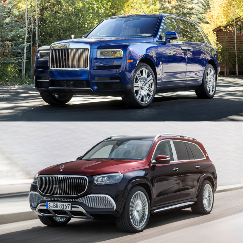 Comparison: Rolls-Royce Cullinan Vs. Mercedes-Maybach GLS 600?
