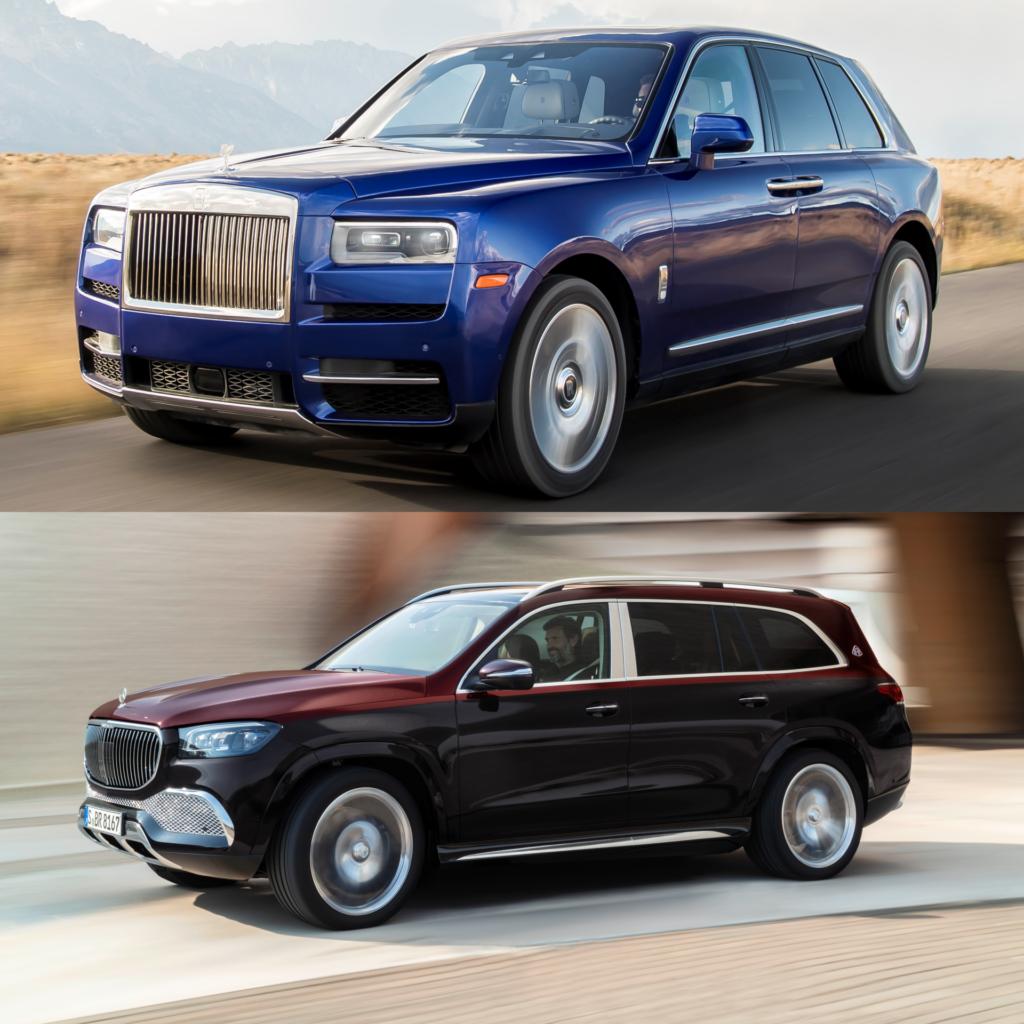 Comparison Rolls Royce Cullinan Vs Mercedes Maybach Gls 600