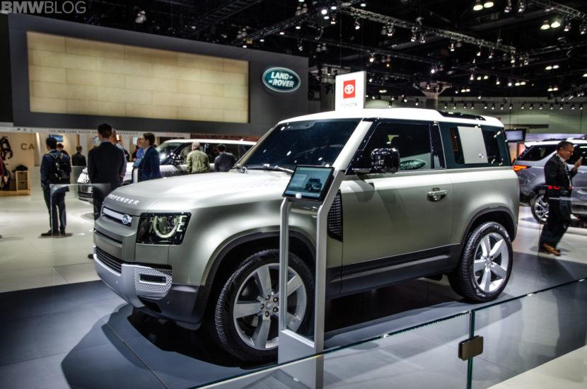 Land Rover Defender LA Auto Show 14 of 18 830x550