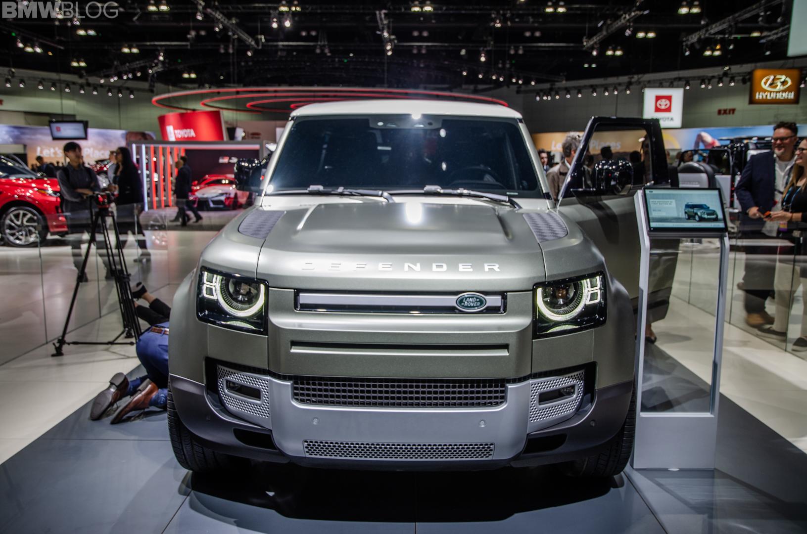 2019 LA Auto Show: Land Rover Defender — America's Coolest New SUV