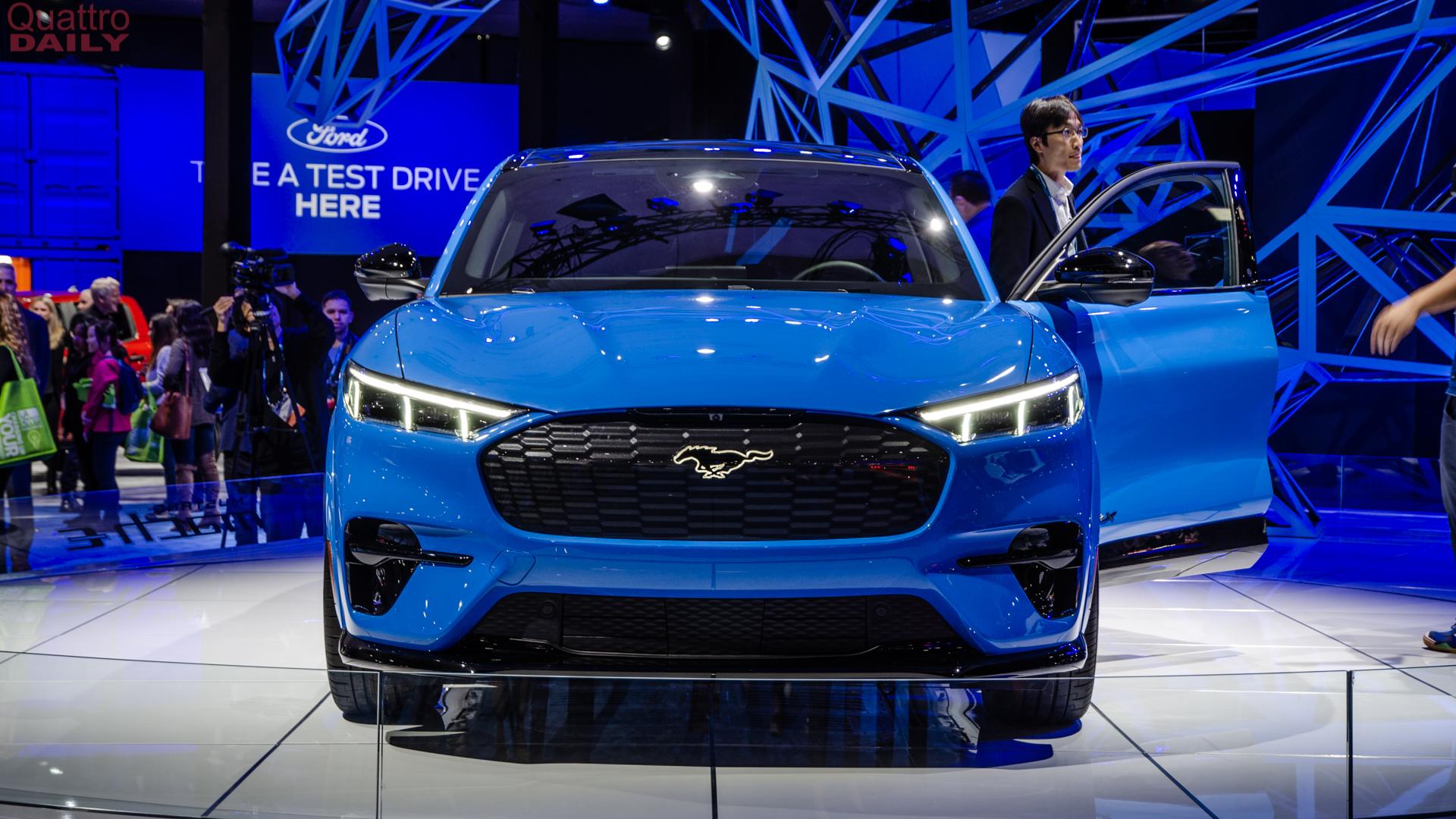 Mustang Mach E LA Auto Show 6 of 10