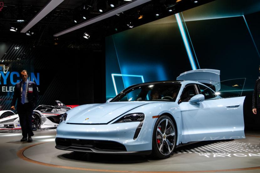 Porsche Taycan 4S LA Auto Show 1 of 10 830x553