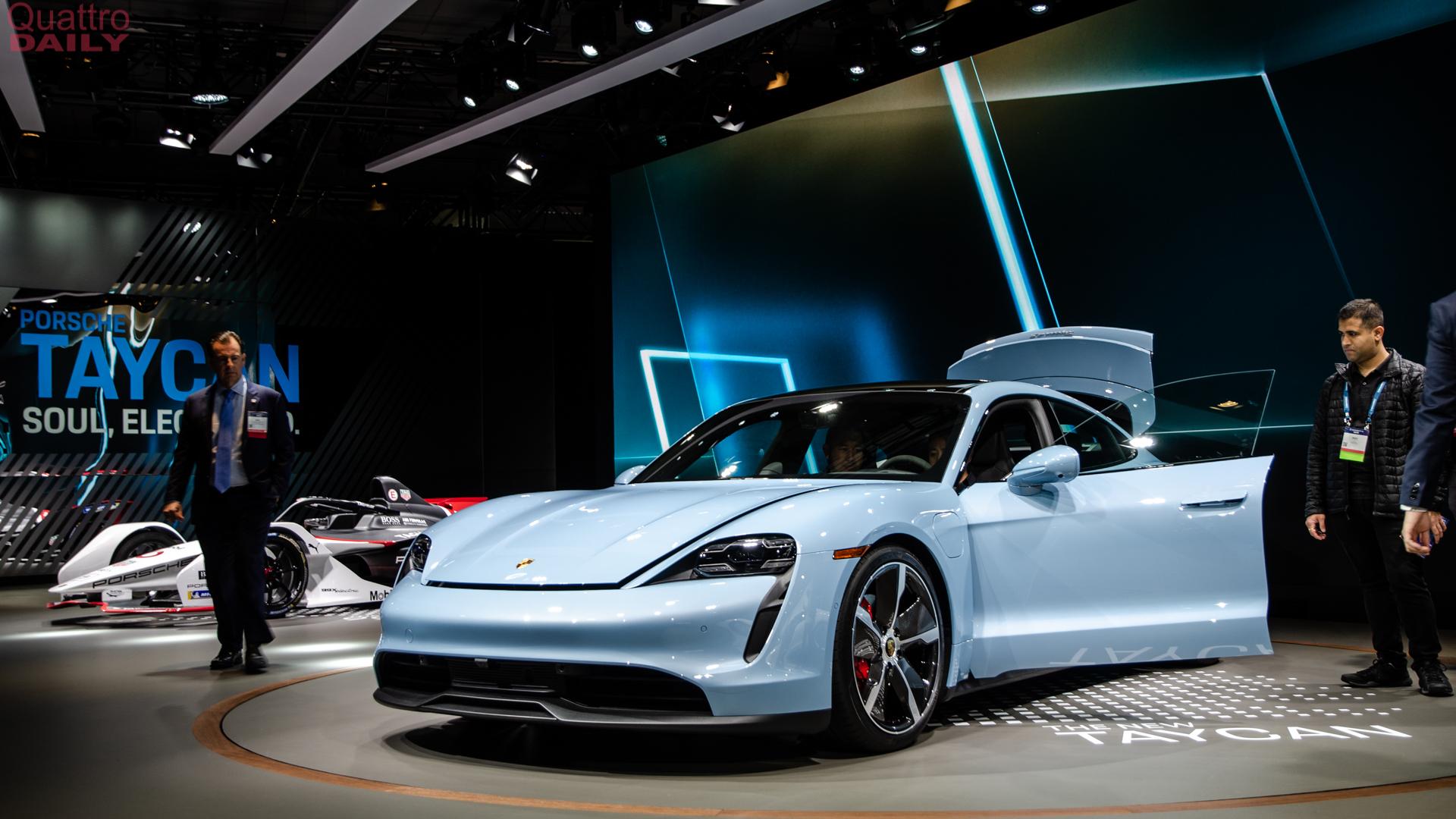 Porsche Taycan 4S LA Auto Show 1 of 10