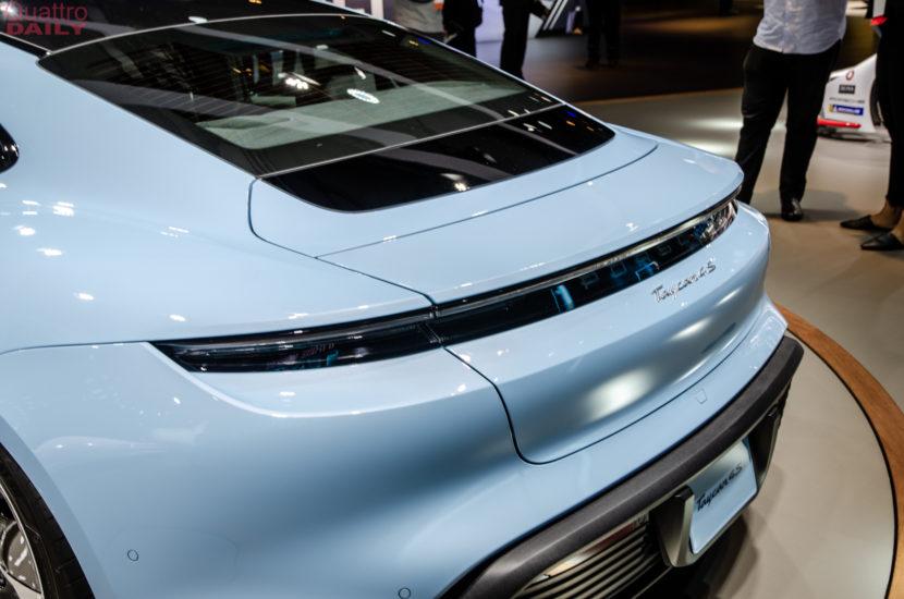 Porsche Taycan 4S LA Auto Show 7 of 10 830x550