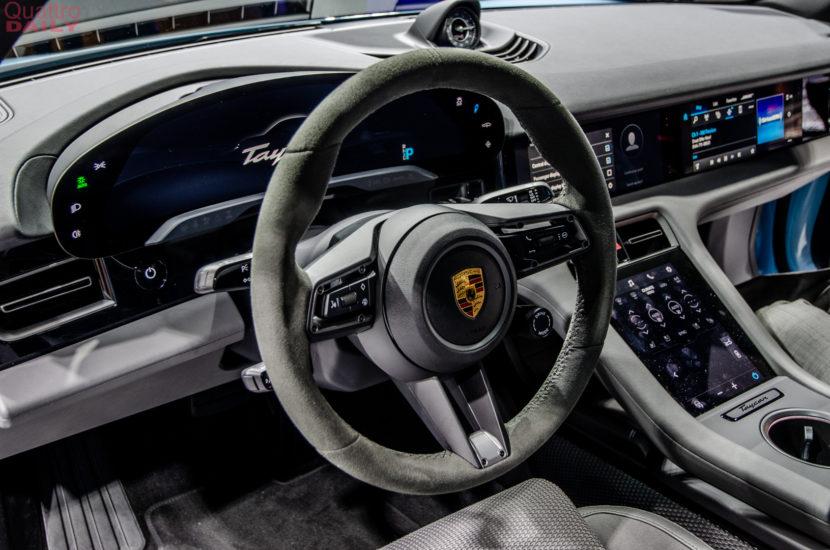 Porsche Taycan 4S LA Auto Show 9 of 10 830x550