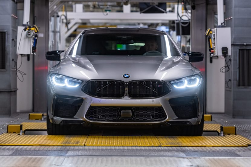 Production Start BMW M8 Gran Coupe at Dingolfing 4 830x553