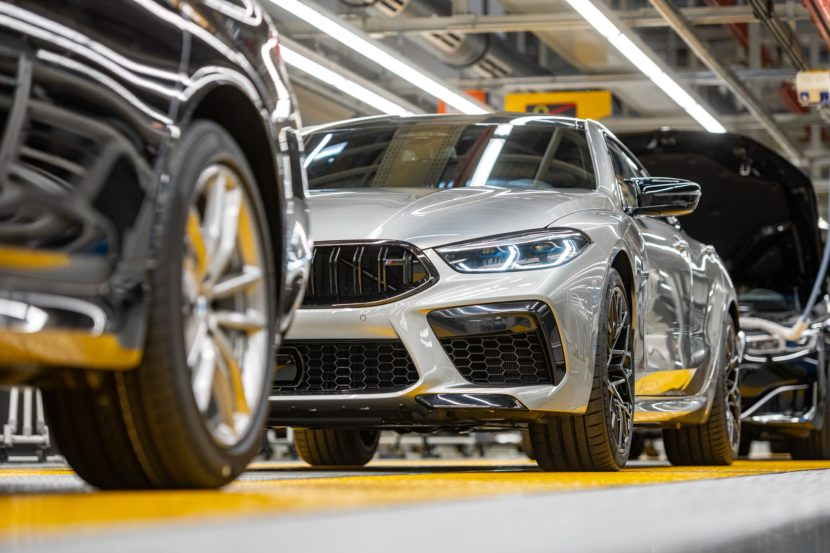 Production Start BMW M8 Gran Coupe at Dingolfing 5 830x553