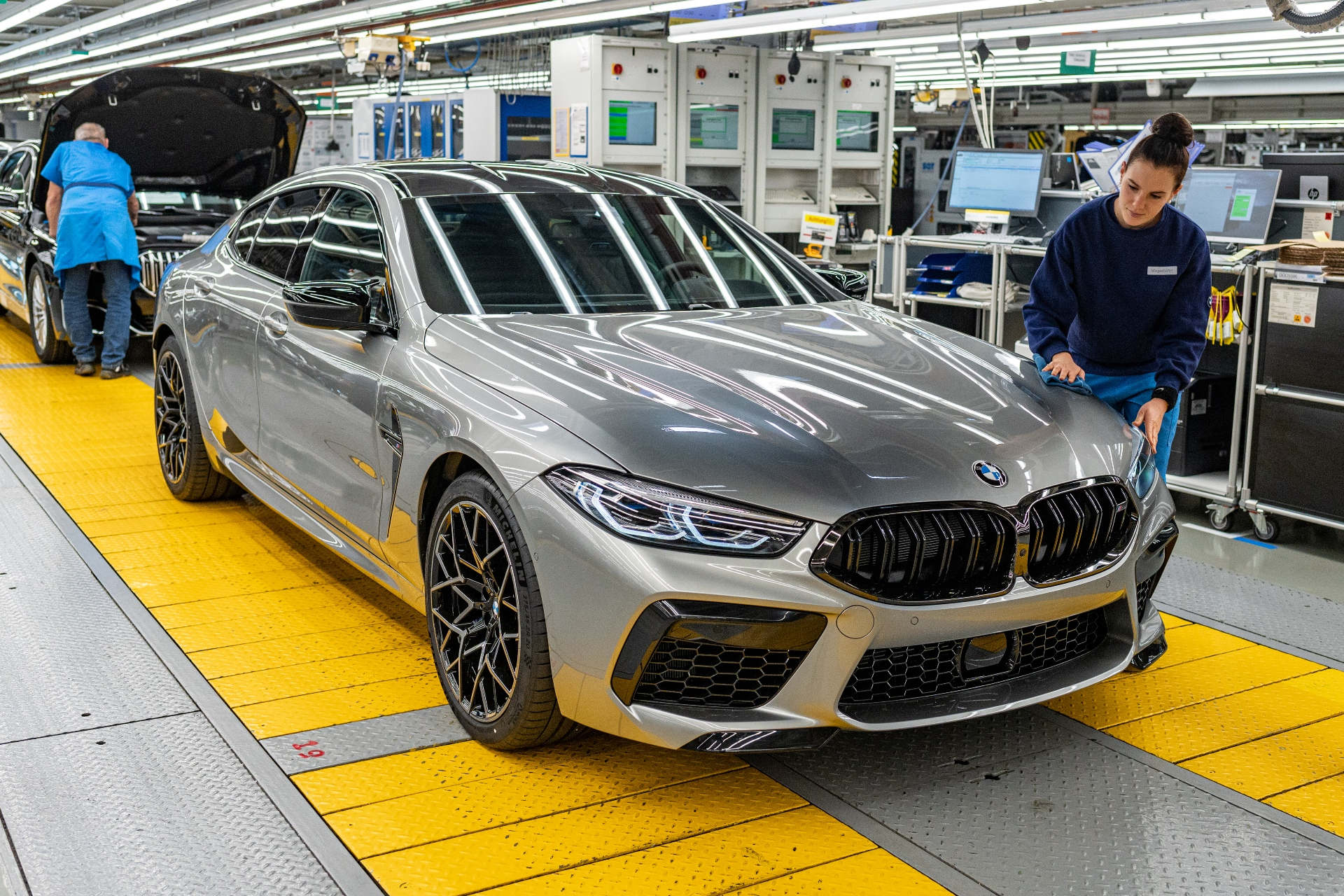Bmw Starts Production Of The New M8 Gran Coupe At The