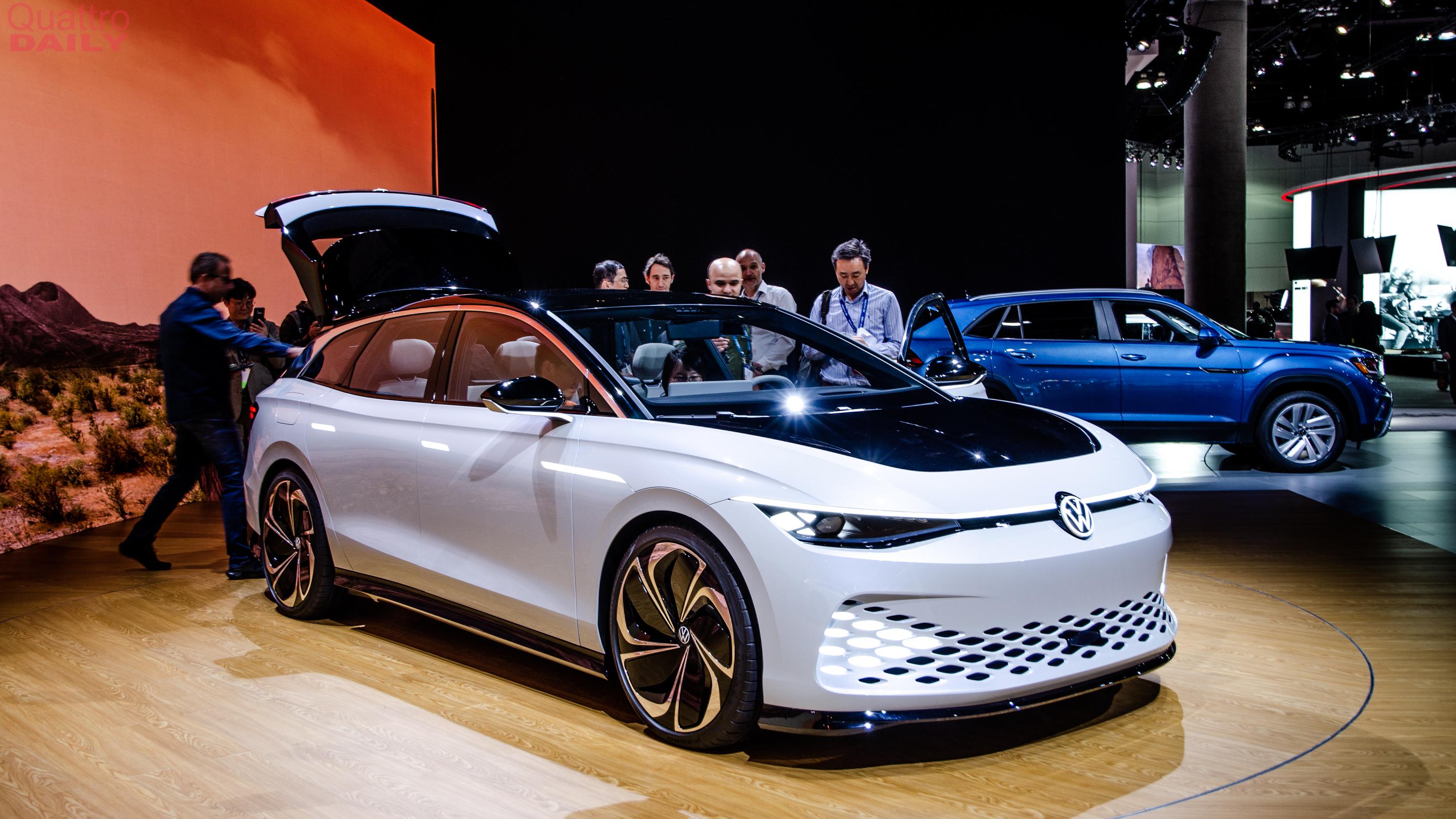 Volkswagen Space Vizzion LA Auto Show 6916