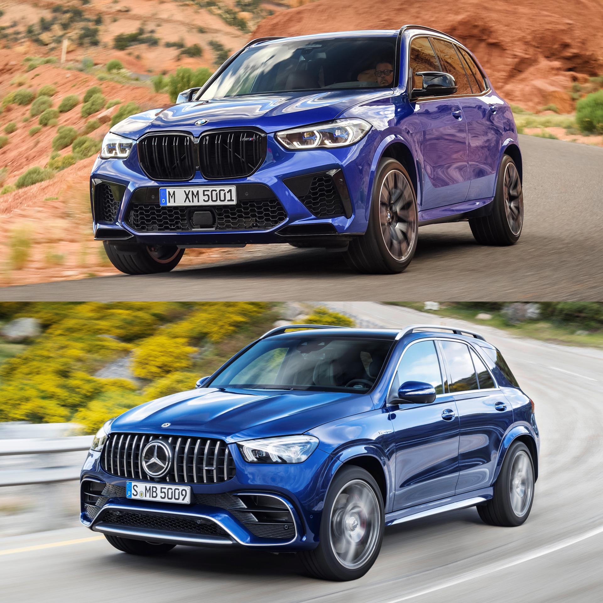 Neugestaltung und Überprüfung 2021 Mercedes Gle Vs BMW X5