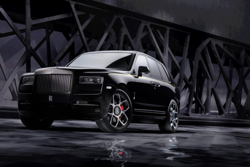 rolls royce Black Badge Cullinan 14 830x553