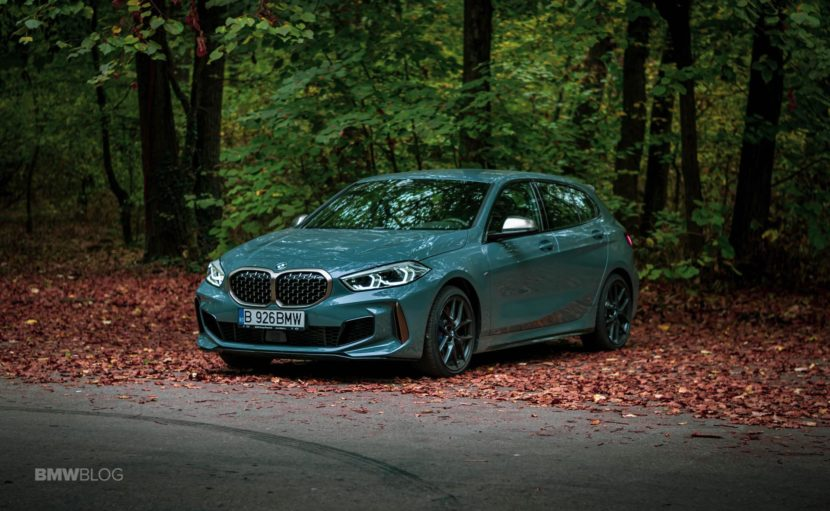 2019 BMW M135i xDrive Review 34 830x511